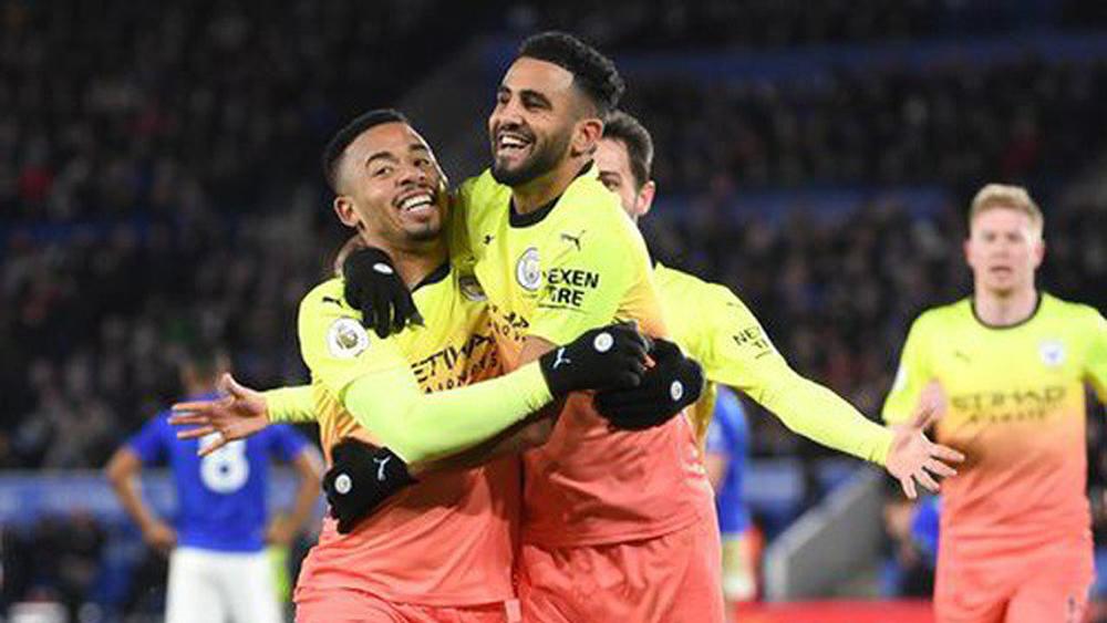 Thắng Leicester, Man City xây chắc ngôi nhì bảng